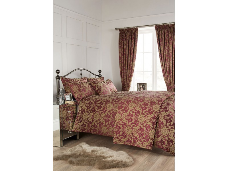Vantona Como Berry Duvet Cover Sets