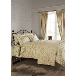 Vantona Como Gold Duvet Cover Sets and Coordinates