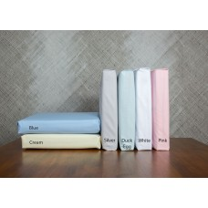 Vantona 180 Thread Count Cotton Fitted Sheets