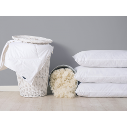 Wool Duvets and Pillows