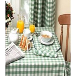 Le Chateau Country Woven Check Table Linen and Coordinates