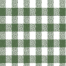 Le Chateau Oil Cloth Table Linen Per Metre Green Gingham