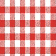 Le Chateau Oil Cloth Table Linen Per Metre Red Gingham