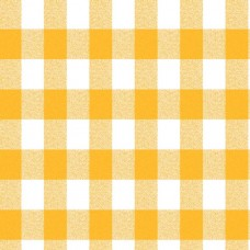 Le Chateau Oil Cloth Table Linen Per Metre Yellow Gingham